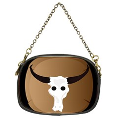 Logo The Cow Animals Chain Purses (two Sides)
