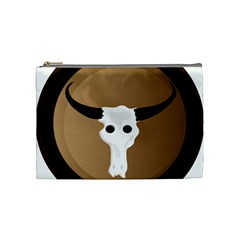 Logo The Cow Animals Cosmetic Bag (Medium)