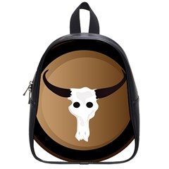 Logo The Cow Animals School Bags (small)