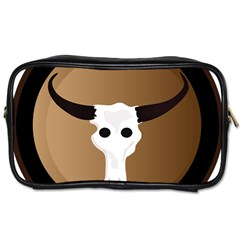 Logo The Cow Animals Toiletries Bags 2-Side