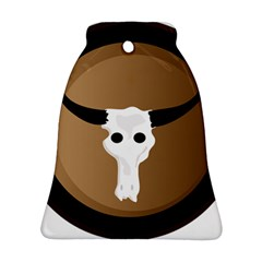 Logo The Cow Animals Bell Ornament (Two Sides)