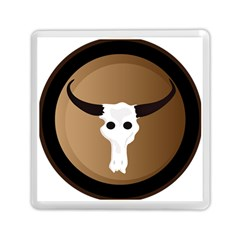 Logo The Cow Animals Memory Card Reader (square)