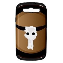 Logo The Cow Animals Samsung Galaxy S III Hardshell Case (PC+Silicone)
