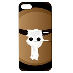 Logo The Cow Animals Apple iPhone 5 Hardshell Case with Stand