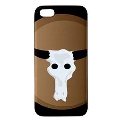 Logo The Cow Animals Apple iPhone 5 Premium Hardshell Case