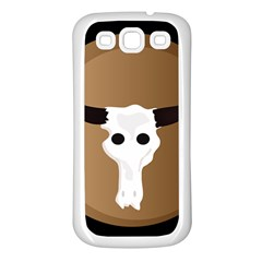 Logo The Cow Animals Samsung Galaxy S3 Back Case (white)