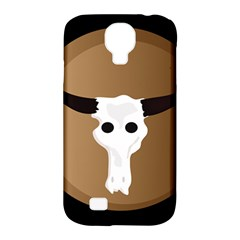 Logo The Cow Animals Samsung Galaxy S4 Classic Hardshell Case (pc+silicone)