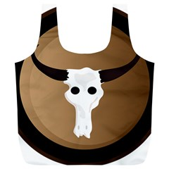 Logo The Cow Animals Full Print Recycle Bags (l)