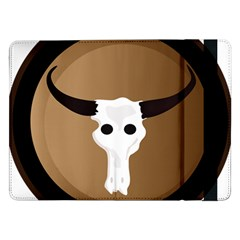 Logo The Cow Animals Samsung Galaxy Tab Pro 12 2  Flip Case