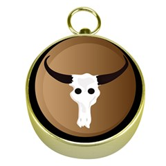 Logo The Cow Animals Gold Compasses