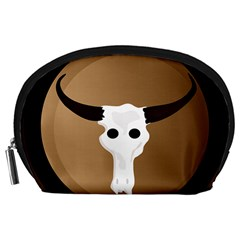 Logo The Cow Animals Accessory Pouches (large)