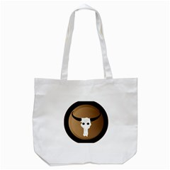 Logo The Cow Animals Tote Bag (white)