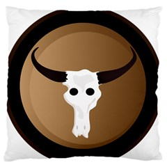 Logo The Cow Animals Standard Flano Cushion Case (two Sides)