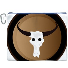 Logo The Cow Animals Canvas Cosmetic Bag (XXXL)