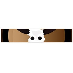Logo The Cow Animals Flano Scarf (large)