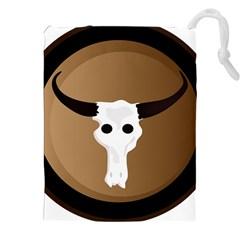 Logo The Cow Animals Drawstring Pouches (xxl)