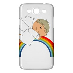 Angel Rainbow Cute Cartoon Angelic Samsung Galaxy Mega 5 8 I9152 Hardshell Case