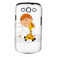 Pet Giraffe Angel Cute Boy Samsung Galaxy S Iii Classic Hardshell Case (pc+silicone)