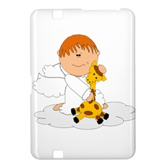 Pet Giraffe Angel Cute Boy Kindle Fire Hd 8 9