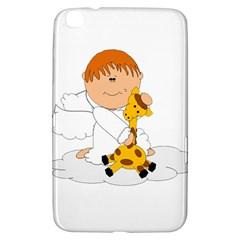 Pet Giraffe Angel Cute Boy Samsung Galaxy Tab 3 (8 ) T3100 Hardshell Case