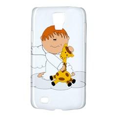 Pet Giraffe Angel Cute Boy Galaxy S4 Active