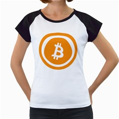 Bitcoin Cryptocurrency Currency Women s Cap Sleeve T