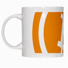 Bitcoin Cryptocurrency Currency White Mugs