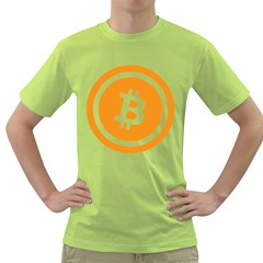 Bitcoin Cryptocurrency Currency Green T-Shirt