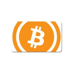 Bitcoin Cryptocurrency Currency Magnet (Name Card)