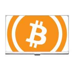 Bitcoin Cryptocurrency Currency Business Card Holders
