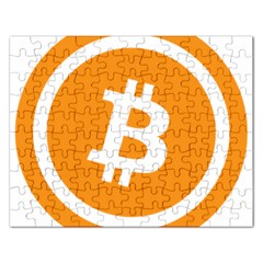 Bitcoin Cryptocurrency Currency Rectangular Jigsaw Puzzl