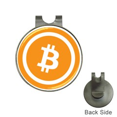 Bitcoin Cryptocurrency Currency Hat Clips With Golf Markers