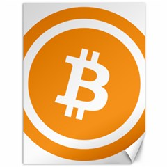 Bitcoin Cryptocurrency Currency Canvas 36  x 48