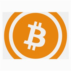 Bitcoin Cryptocurrency Currency Large Glasses Cloth (2 Side)