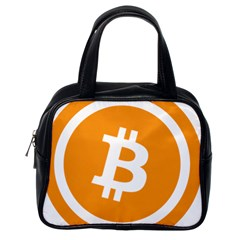 Bitcoin Cryptocurrency Currency Classic Handbags (One Side)