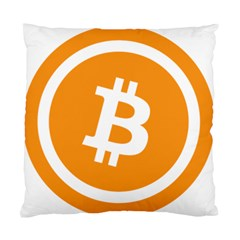 Bitcoin Cryptocurrency Currency Standard Cushion Case (two Sides)