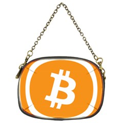 Bitcoin Cryptocurrency Currency Chain Purses (two Sides)