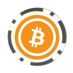 Bitcoin Cryptocurrency Currency Poker Chip Card Guard (10 Pack)