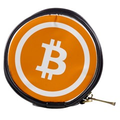 Bitcoin Cryptocurrency Currency Mini Makeup Bags