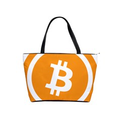 Bitcoin Cryptocurrency Currency Shoulder Handbags
