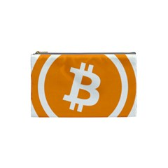 Bitcoin Cryptocurrency Currency Cosmetic Bag (Small)
