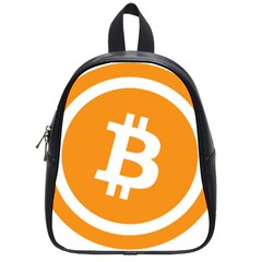 Bitcoin Cryptocurrency Currency School Bags (Small)