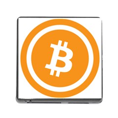 Bitcoin Cryptocurrency Currency Memory Card Reader (square)