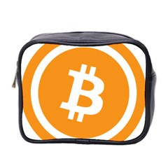 Bitcoin Cryptocurrency Currency Mini Toiletries Bag 2-Side
