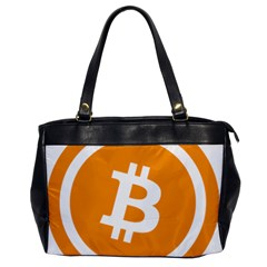 Bitcoin Cryptocurrency Currency Office Handbags