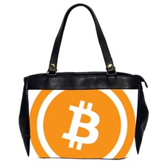 Bitcoin Cryptocurrency Currency Office Handbags (2 Sides)