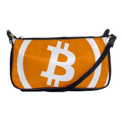 Bitcoin Cryptocurrency Currency Shoulder Clutch Bags