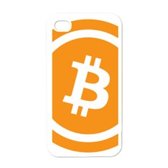 Bitcoin Cryptocurrency Currency Apple Iphone 4 Case (white)