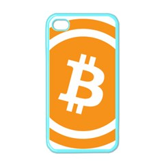 Bitcoin Cryptocurrency Currency Apple Iphone 4 Case (color)
