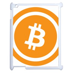 Bitcoin Cryptocurrency Currency Apple Ipad 2 Case (white)